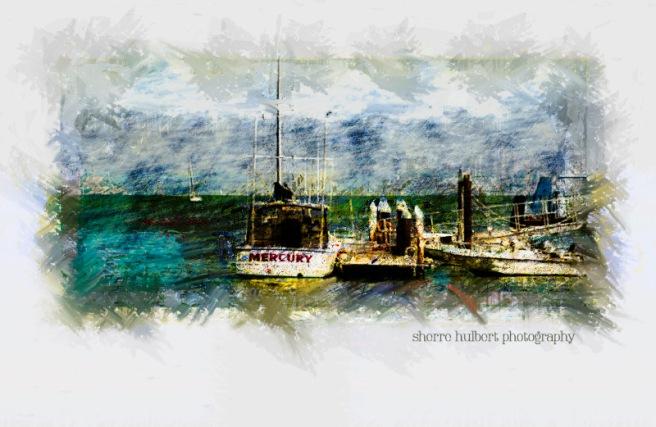 Harbor-Boats-Pastel