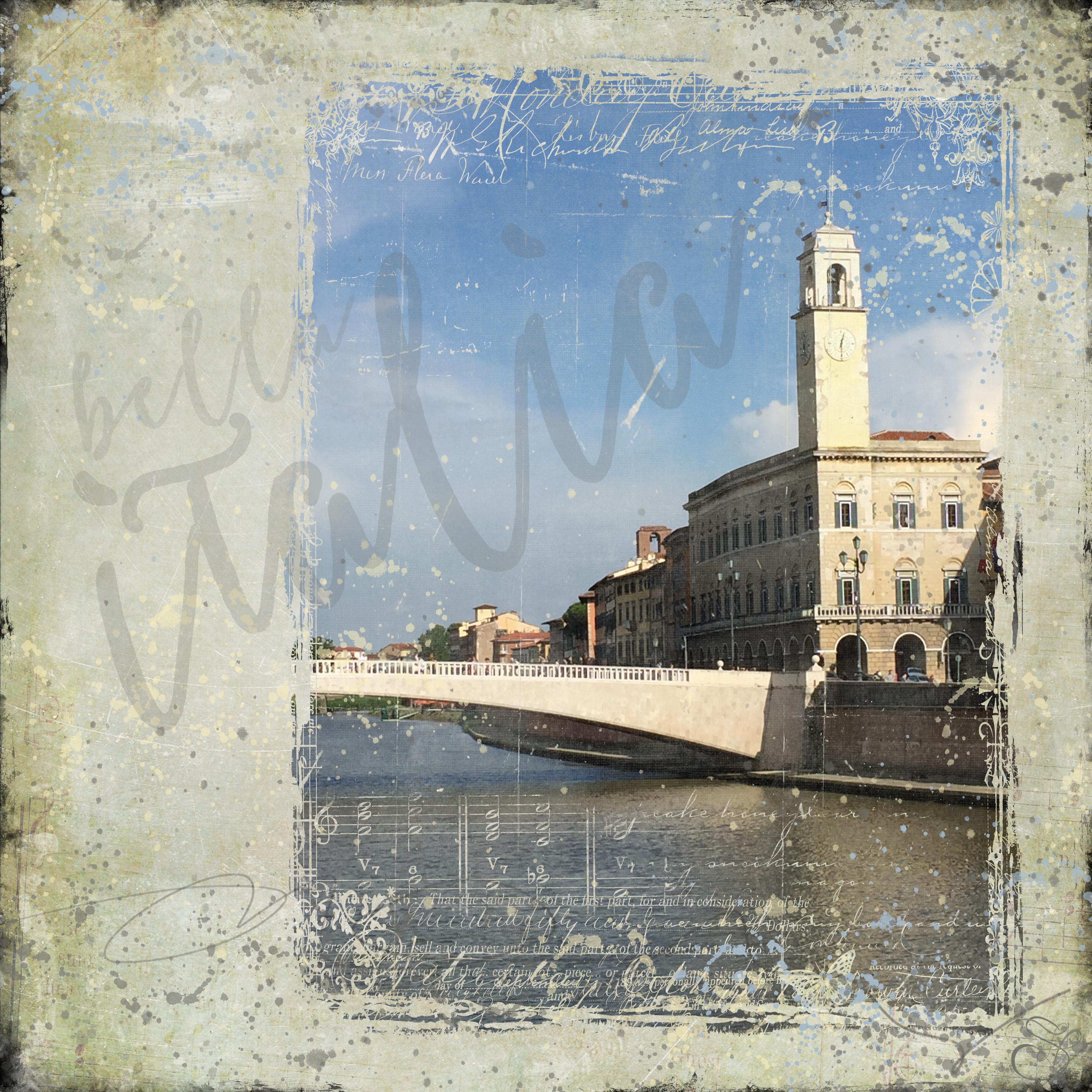River in Pisa copy