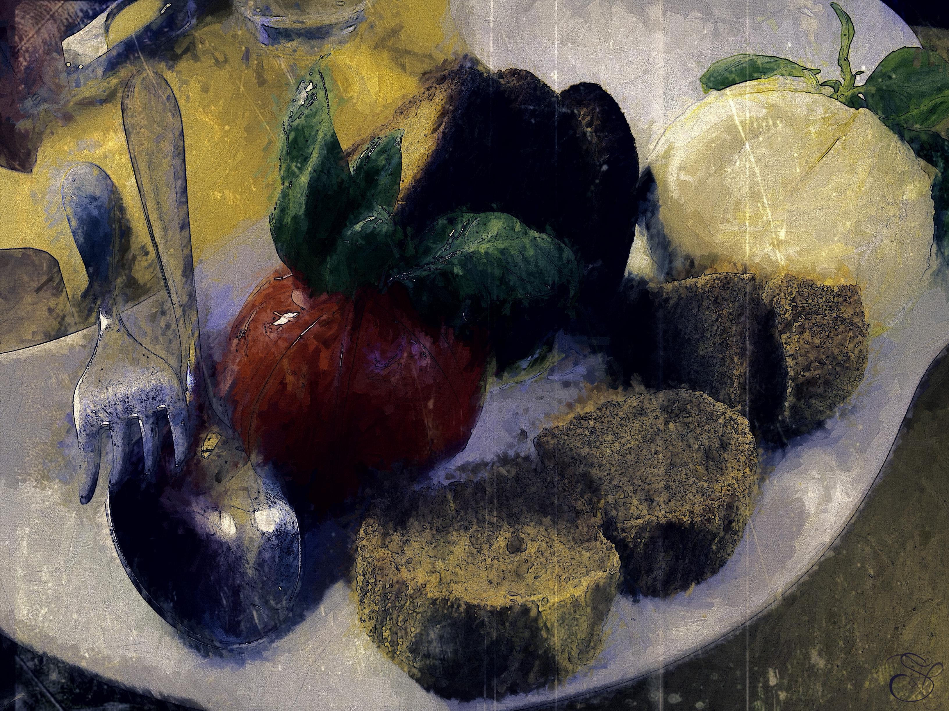 Caprese Salad in Lucca copy