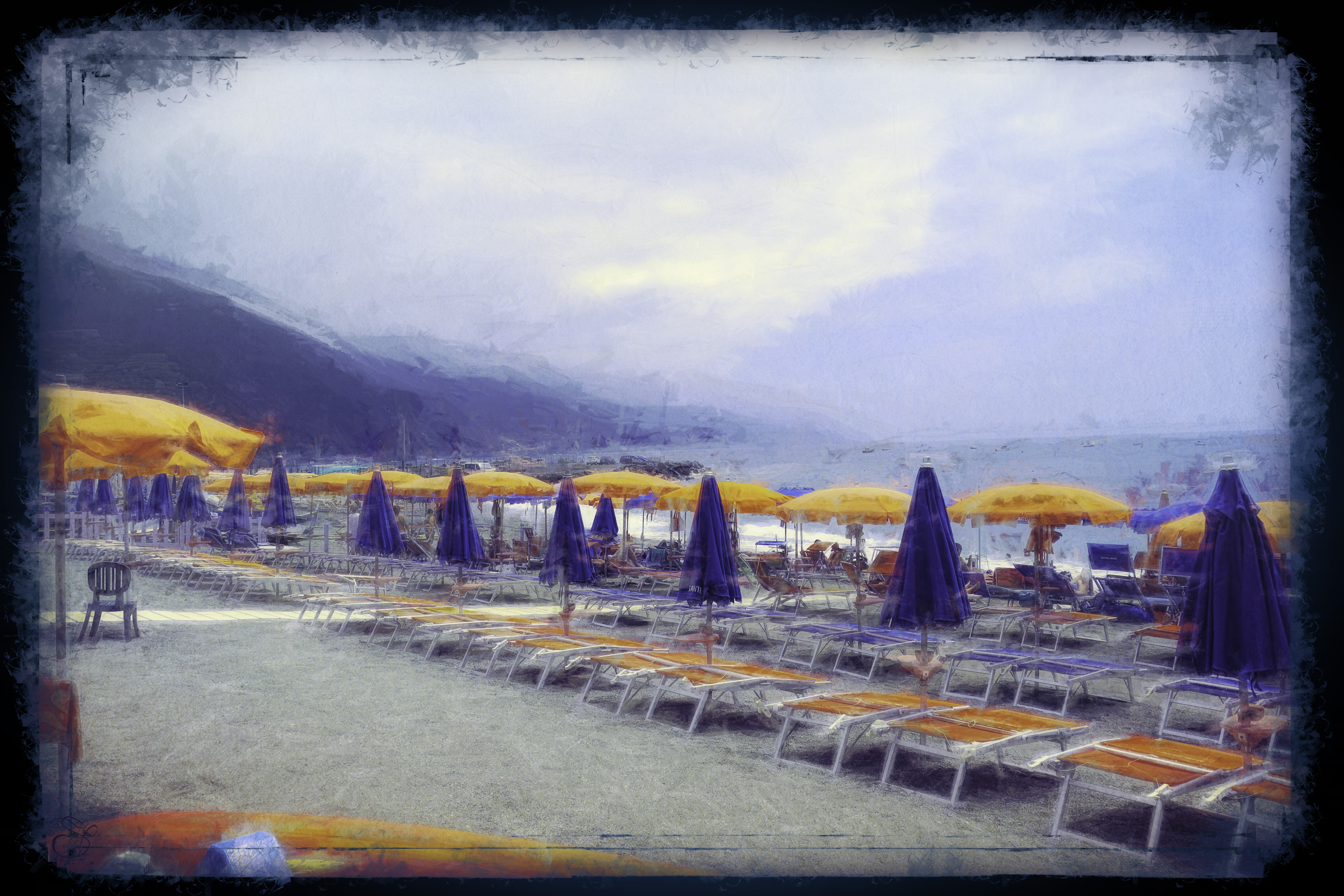 Umbrellas in Cinque Terre copy